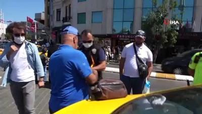 dolar -  Takside çantasını unuttu, parası eksik çıkınca taksiciden şikayetçi oldu