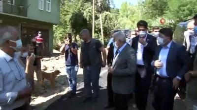 bassagligi -  AK Parti Genel Başkan Vekili Binali Yıldırım Sel bölgesinde