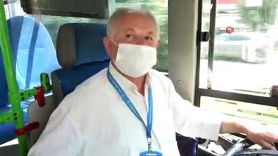 halk otobusu -  Bursa'nın en kibar halk otobüsü şoförü... İsmini bilen yok, herkes onu 'Hoş geldin şoför' olarak tanıyor