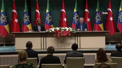 milyar dolar -  Cumhurbaşkanı Erdoğan: 'FETÖ'nün Etiyopya'da tüm okulları Türkiye Maarif Vakfı'na devredildi'