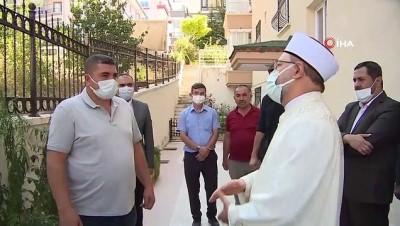 bicakli kavga -  Diyanet İşleri Başkanı Erbaş'tan Emirhan Yalçın'ın ailesine taziye ziyareti