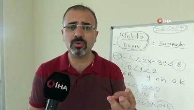 Diyarbakırlı matematik öğretmeni, geometride nokta ve doğrunun olmadığını iddia etti