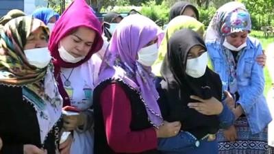 genc kiz -  Samsun'da kızını isteyen akrabası tarafından öldürülen kadın defnedildi