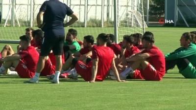 Sivasspor, Kopenhag maçının son provasını yaptı