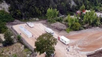 kanalizasyon -  15 kayıp veren Babaçay'da konteyner köy kuruluyor