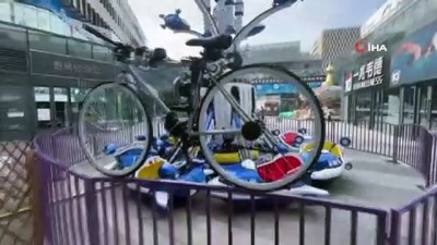 - Çin'de bir genç, kendi kendine gidebilen bisiklet üretti