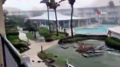 siddetli yagis -  - Grace Kasırgası Meksika'nın Yucatan Yarımadasını vurdu - Quintana Roo eyaletinde sokağa çıkma yasağı ilan edildi