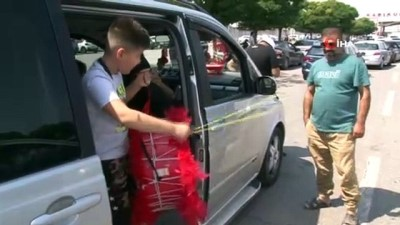 gurbetci -  Gurbetçiler dönüş yolunda bagajlarını doldurdu Videosu