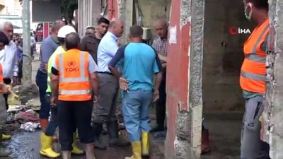 sahil guvenlik -  Kastamonu'da felaketin izlerini silebilmek için çalışmalara devam ediliyor