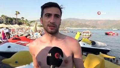 Tatilin en eğlenceli gündüz aktivitesi su sporları olmaya devam ediyor