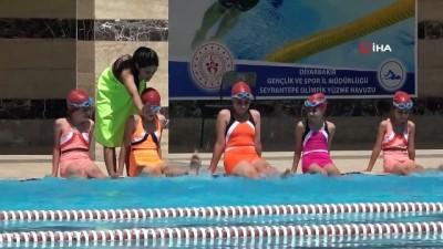 Yenişehir'de 'Yüzme Bilmeyen Çocuk Kalmasın' projesi coşkuyla başladı