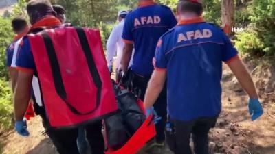 Ormanda cesedi bulunan Emine öğretmenin cansız bedeni adli tıp kurumuna gönderildi