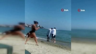 kalp masaji -  Silivri'de denize giren genç boğularak hayatını kaybetti