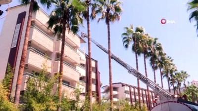 saglik ekibi -  Alanya'da 4 yıldızlı otelde korkutan yangın