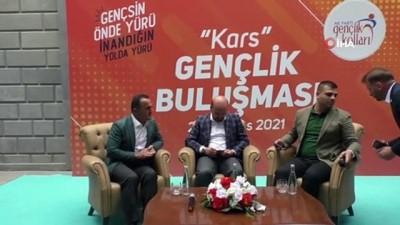 bulduk -  Bilal Erdoğan Kars'ta gençlerle buluştu Videosu