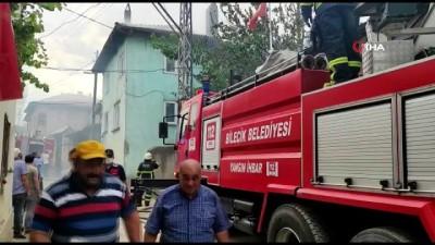 itfaiye araci -  Bilecik'te korkutan yangın, 2 ev 1 ağır 1 samanlık kül oldu