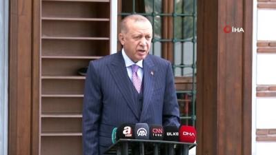 """goc -  Cumhurbaşkanı Erdoğan: """"Biz Afganistan'a tüm imkanlarımızla elimizden gelen gayreti gösterdik"""""""