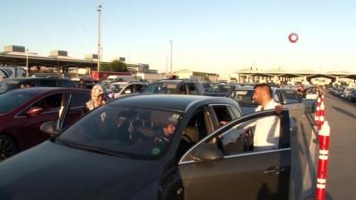 gurbetci -  Kapıkule'den saatte 230 araç geçiyor Videosu