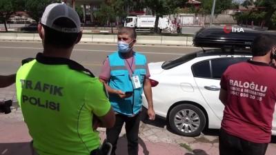 trafik polisi -  Korona virüs hastası, karantina sürecinin bitmesine 3 gün kala radara takıldı