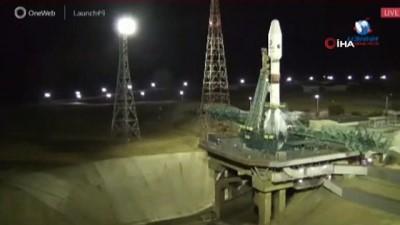 - OneWeb'e ait uyduların fırlatılma işlemi ateşlemeye 40 saniye kala iptal edildi