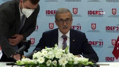 """savunma sanayi -  Savunma Sanayi Başkanı Demir: """"Türkiye'de artık güçlü ülkeler arasında"""""""