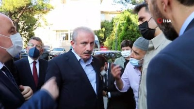TBMM Başkanı Şentop, Kahramanmaraş'ta