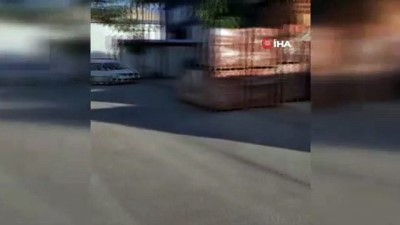 polis teskilati -  Anavatan Partisi Genel Merkezi önünde şüpheli çanta alarmı
