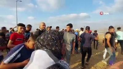 goz yasartici gaz -  - İsrail güçlerinden Gazze'de Filistinlilere müdahale: 24 Filistinli yaralandı