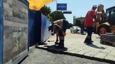 turist -  Kuşadası Belediyesi'nden kentin yol sorunlarına hızlı çözüm