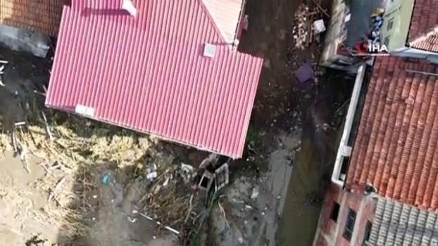 tavuk ciftligi -  Selden zarar gören Zafer köyünde hayat normale dönüyor