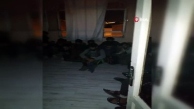 Van'da 78 düzensiz göçmen yakalandı