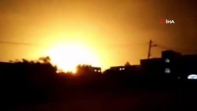savas -  - İsrail savaş uçaklarından Gazze'ye hava saldırısı