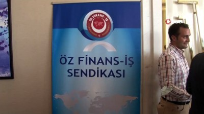 saygi durusu -  Öz Finans İş Sendikası İstanbul Anadolu Şube Başkanlığı 1. Olağan Genel Kurulu Maltepe'de gerçekleşti