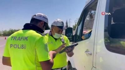 emniyet kemeri -  Suruç'ta trafik denetimleri.. Kurallara uymayanlara ceza kesildi