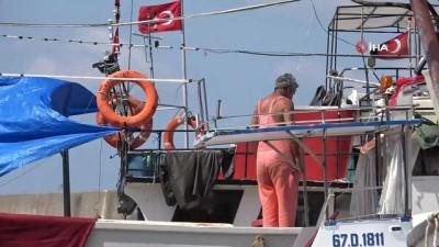 yansima -  Balıkçılar 1 Eylül için hazırlıklarını sürdürüyor