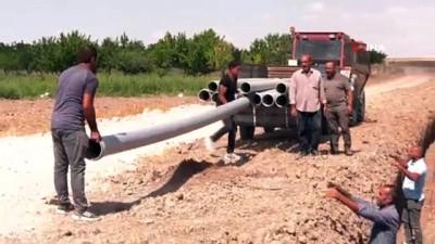 kuraklik -  Başkentte kurak tarım arazileri suya kavuşturuluyor Videosu