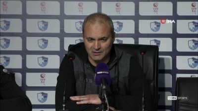 """savas - Erkan Sözeri: """"Oyuncularımı gönülden kutluyorum, fiziksel eksikliğe rağmen bu savaşı her futbolcu yapamaz"""""""