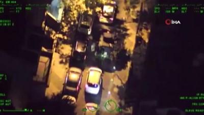 İstanbul'da helikopter destekli siber dolandırıcılık operasyonu: 19 gözaltı
