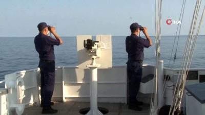 sahil guvenlik -  Sel felaketinde kaybolanları arama çalışmaları devam ediyor