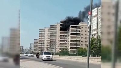 kacis -  Alevlere teslim olan daire mahallede panik yaşattı