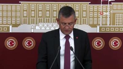 """CHP'li Özel: """"Biz göçmenlere karşı değiliz, göçmen oluşturan politikaya karşıyız"""""""