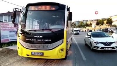 halk otobusu -  Cip ile halk otobüsü çarpıştı: 1 yaralı