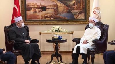 """Diyanet İşleri Başkanı Ali Erbaş: """"Olmazsa olmazımız, Kur'an ve sünnet çizgisine riayet etmektir"""""""