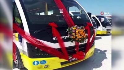 halk otobusu -  Halk otobüsü gelin arabası oldu