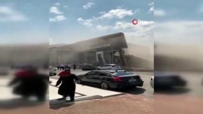 cokme -  İkitelli'deki dükkandaki çökme sonrası panik anları kamerada