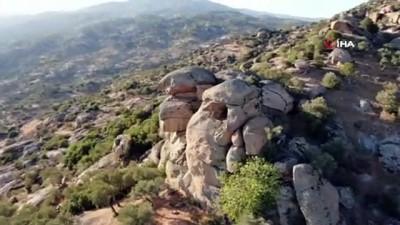orman yanginlari -  Muğla'daki yangınlar Türkiye'nin en yaşlı kayalarına ulaşmadan söndürüldü