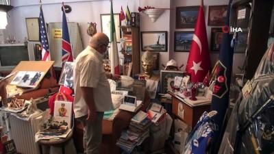 Oğlunu depremde kaybetti, 40 yıllık emeğini müzeye dönüştürdü