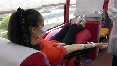 Samsunlular 5 bin 555 ünite kan bağışı için kolları sıvadı