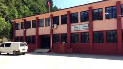 okul bahcesi -  Selin vurduğu okul eğitim-öğretime hazırlanıyor