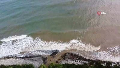 Afet bölgesinde salgın hastalık artınca denize girmek yasaklandı